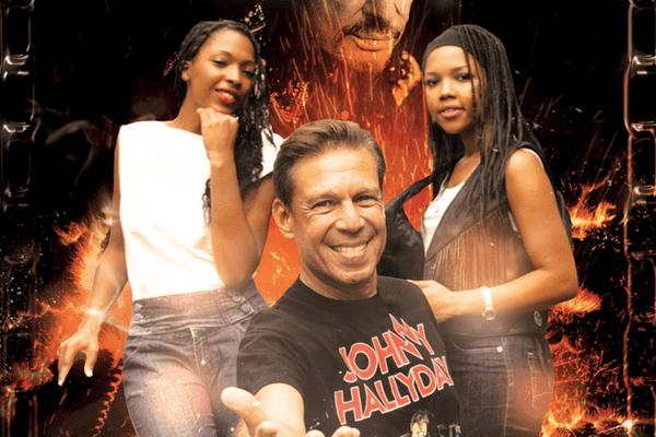 Concert de Johnny Tahiti au centre de détention de Papeari