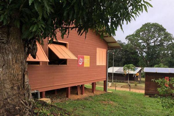 La maison du Parc Amazonien à Saül