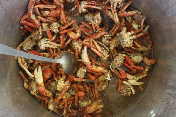 Le plat de crabe