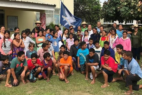 L'école Teina Mahu de Tubuai reçoit le label Aire Marine Educative