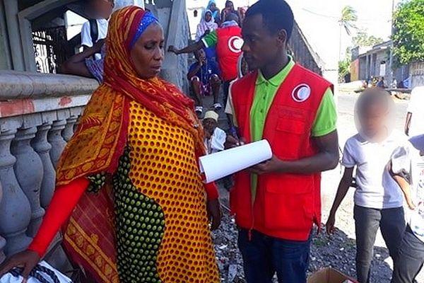 intervention du Croissant rouge aux Comores