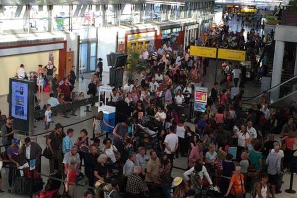 Affluence aéroport
