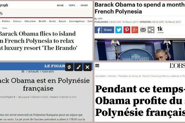 Quand le monde a les yeux rivés sur la Polynésie...