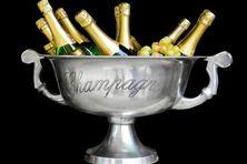Du champagne mis au frais
