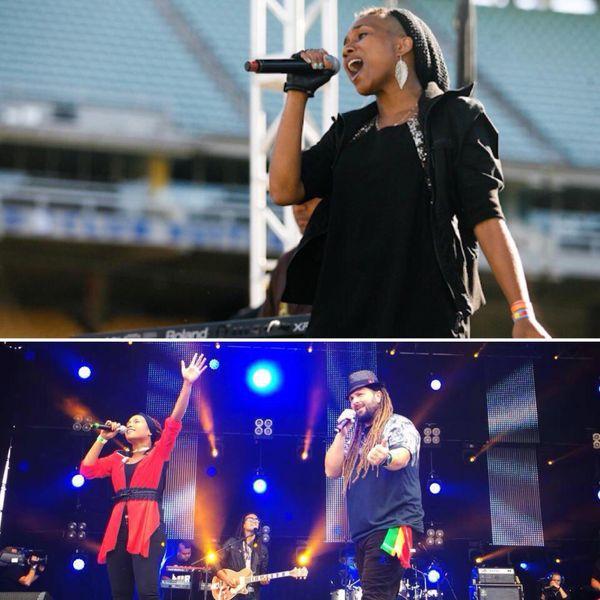 Avec le groupe de reggae chrétien Christafari, Dyna a effectué une grande tournée internationale