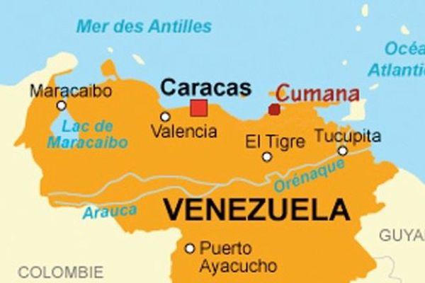 Carte Venezuela