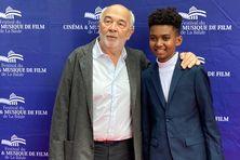 Gérard Jugnot et Soan au Festival Cinéma de La Baule.