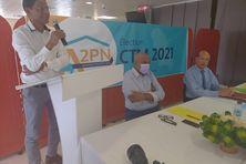 Jean-Philippe Nilor, tête de liste Ansanm pou peyi nou (territoriales juin 2021).