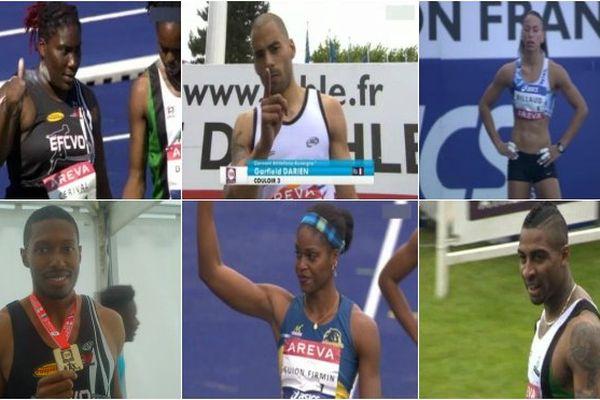 Athlétisme championnats de France
