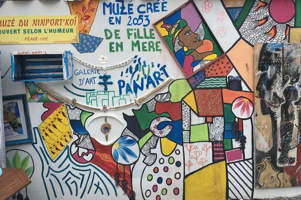 Fresque au Muzéduninport'koi