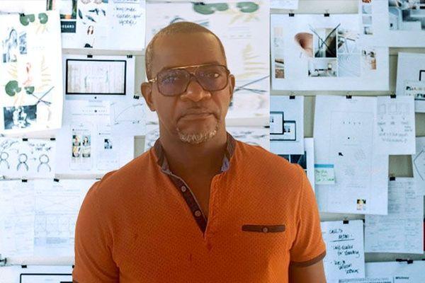 Albert Valide, responsable de la police municipale du Diamant