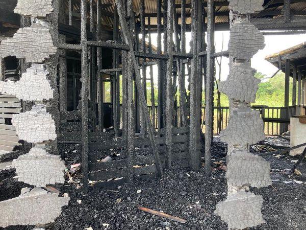 Le carbet des savoirs traditionnels de Macouria détruit