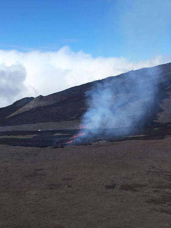 Eruption - Piton de la Fournaise 20190729
