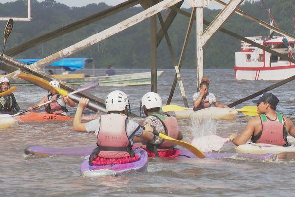 Kayak-polo à Saint-Georges