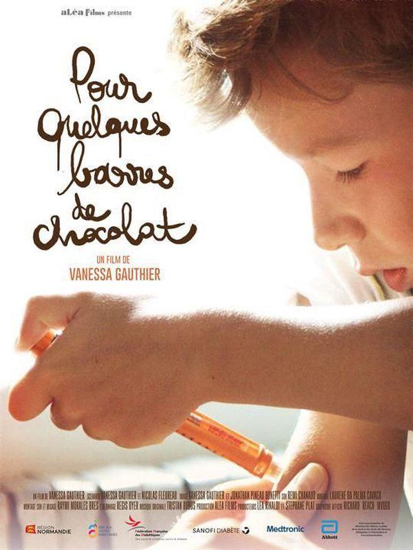 """Affiche film """"Pour quelques barres de chocolat"""""""