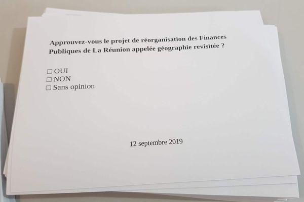 Un référendum organisé sur le projet de réorganisation des Finances Publiques à La Réunion.