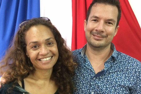 Photo Joann Winchester suppléante élection législatives Gil brial MPC (16 mai 2017)