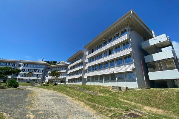 Le lycée professionnel de Touho.