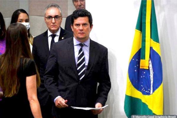 L'ex ministre de la justice Sergio Moro va annoncer sa démission