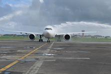 Arrivée en Guadeloupe du vol inaugural du 1er Airbus A330neo de Corsair - 15/04/2021