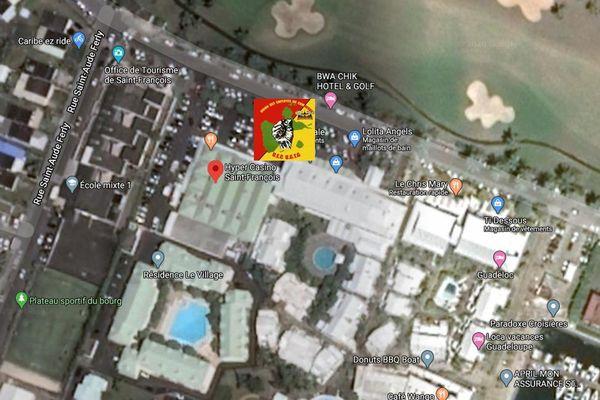 UEC-UGTG mobilisé à l'hyper Casino de Saint-François