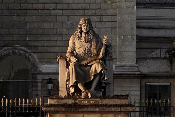 La statue de Colbert toujours à l'Assemblée Nationale