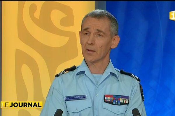 Invité du JT, le Commandant de Groupement de la Gendarmerie en Polynésie Française