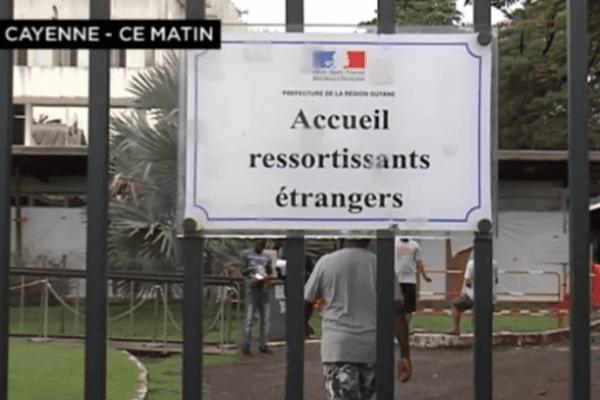 Ressortissant étrangers guyane asile