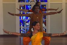 Ragunath Manet et ses danseuses
