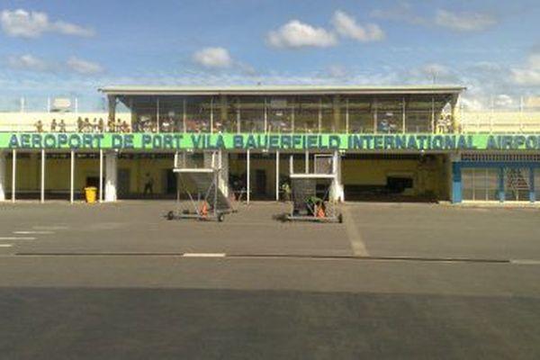 L'aéroport Bauerfield de Port-Vila.