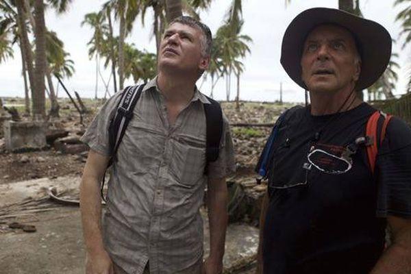 Philippe Folliot, député et Christian Jost, professeur à l'université de Polynésie