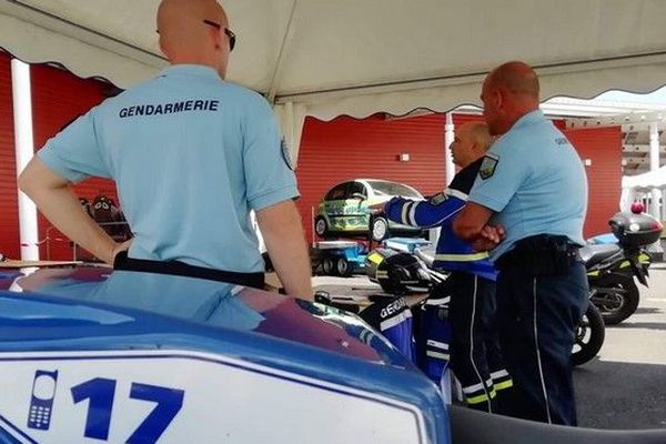 Rencontres de la sécurité gandarmerie Sainte-Suzanne 121019