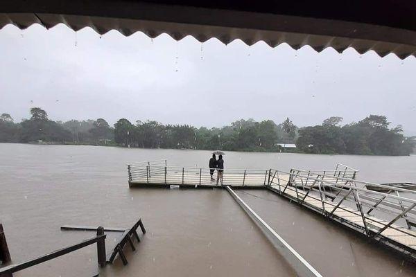 Camopi inondée