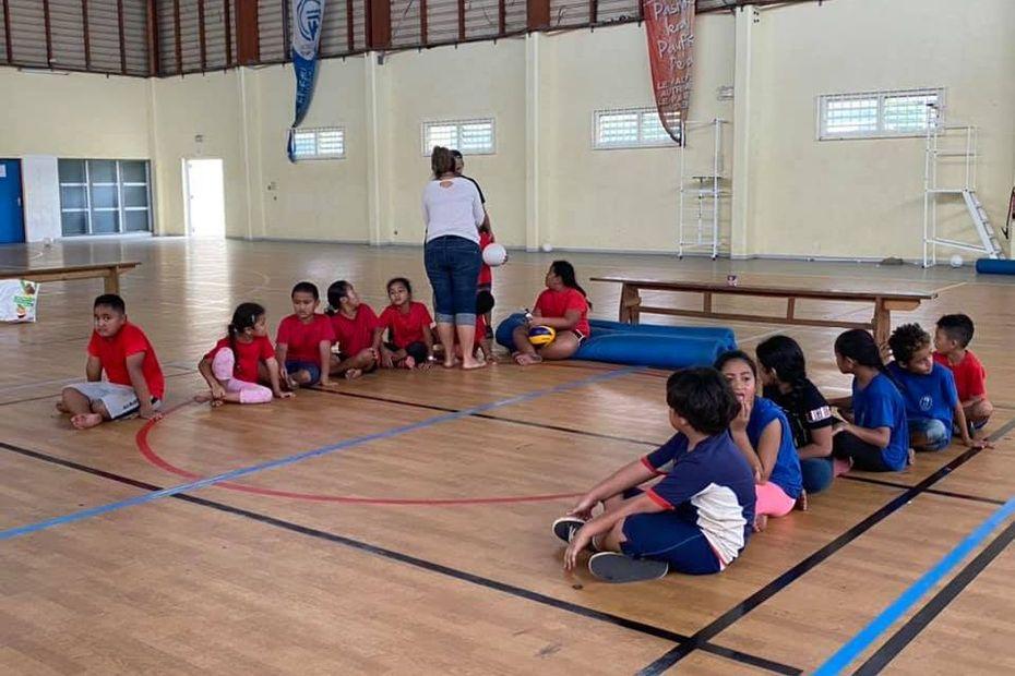Sport: Baby volley pour les plus jeunes - Wallis-et-Futuna la 1ère
