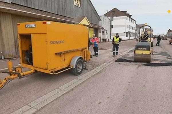 travaux reseaux routier saint pierre