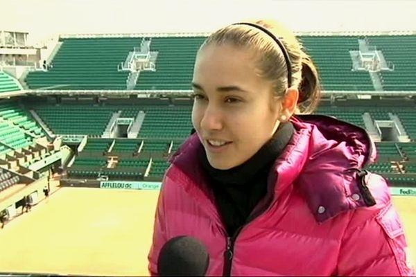 Tennis : Pauline Payet