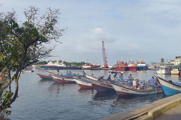 Guiria Venezuela port de pêche