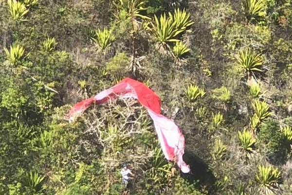Accident de parapente aux Orangers