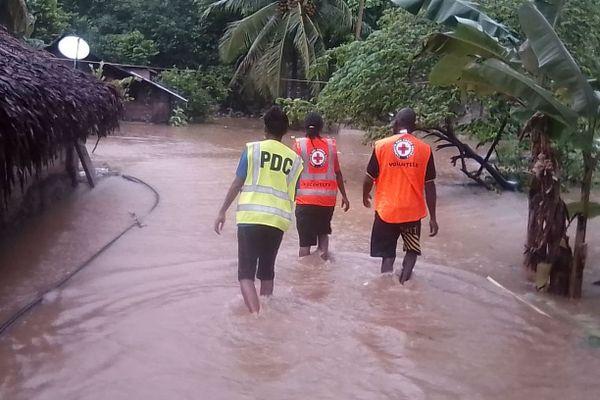 Après le passage d'Harold au Vanuatu, avril 2020
