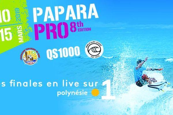 Papara Pro sur Polynésie la 1ère