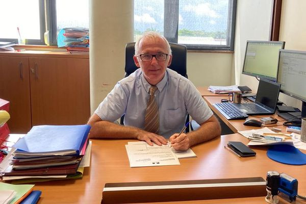 Le procureur de la République Samuel Finielz