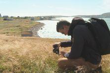 Le photographe professionnel immortalise Saint-Pierre et Miquelon avec de nouveaux clichés des îles destinés à la banque d'images du conseil territoriale et l'office du tourisme