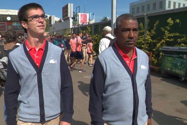 Réunionnais juges de ligne à Roland Garros