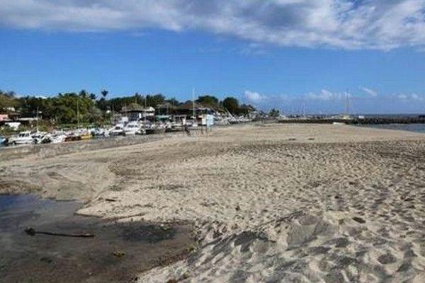 travaux pré-calibrage dune de sable plage des Roches Noires 151119