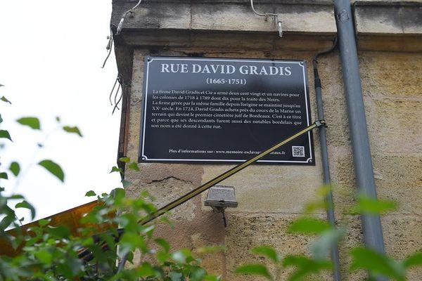 Bordeaux rue David Gradis