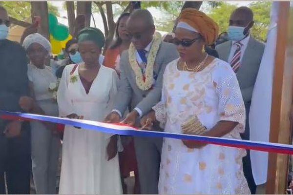 Inauguration Parc Amina Oili