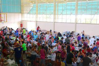 Plus de 200 vacataires recrutés pour mettre sous pli les documents électoraux
