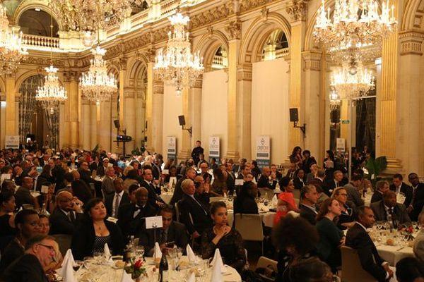 Près de 500 invités étaient présents ce soir-là