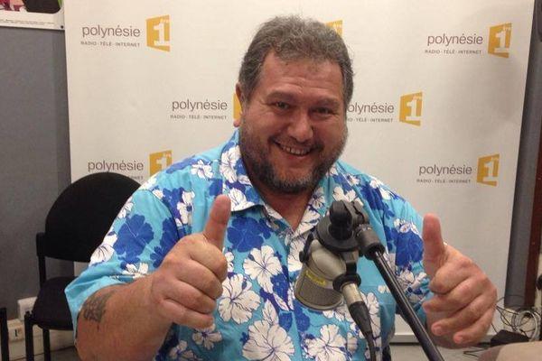 Moetai Brotherson, invité du Grand Huit sur Polynésie 1ère radio, 04 09 14