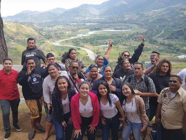 JMJ délégation Wallis et Futuna barrage Cachi au Costa rica